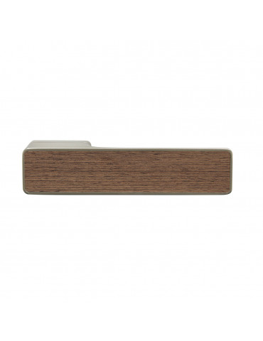 MAXIMUM PAIR OF HANDLES WITH DECORATIVE TEAK WOODEN INSERT