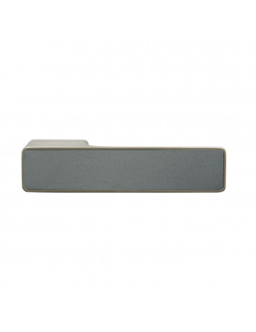 MAXIMUM PAIR OF HANDLES WITH PEARL GRAY METAL DECORATIVE INSERT