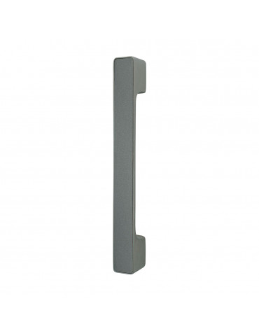 MAXIMUM PULL BAR 297mm WITH DECORATIVE INSERT PEARL GRAY METAL