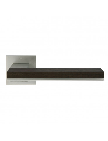 PAIR OF MIMOLIMIT HANDLES WITH WALNUT WOODEN DECORATIVE INSERT