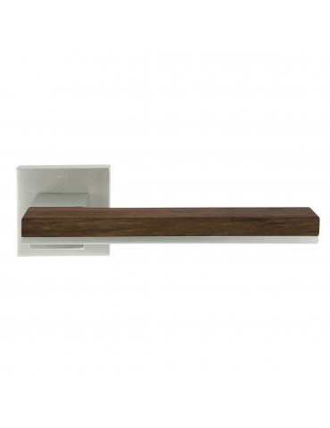 PAIR OF MIMOLIMIT HANDLES WITH DECORATIVE TEAK WOODEN INSERT