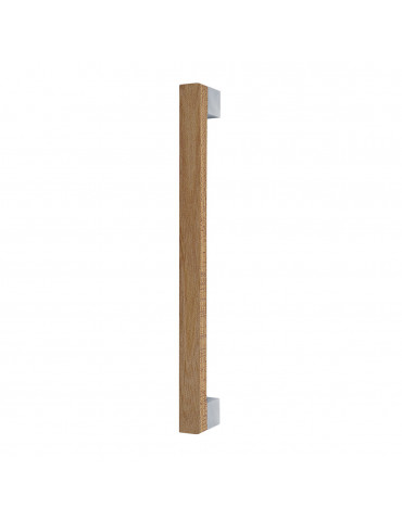 MIMOLIMIT PULL BAR 340mm WITH DECORATIVE INSERT ELM WOODEN